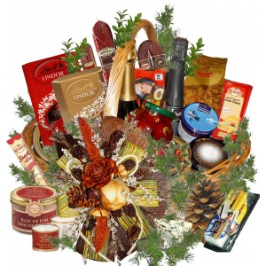 Horn of Plenty Gourmet Basket