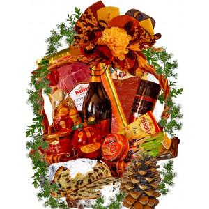 Festive feast gourmet basket