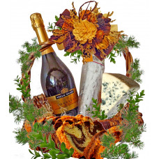 Holiday surprise gourmet basket