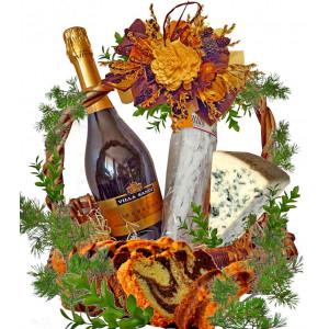 Holiday surprise gourmet basket