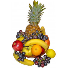 Exotic fruit tray