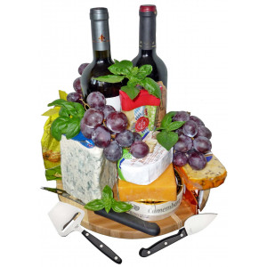 Delightful cheese tray
