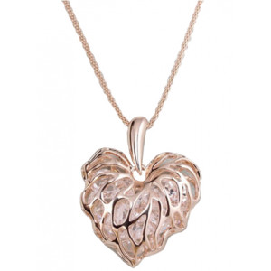 Lilian - Heart shape necklace