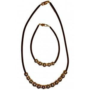 Viola - Necklace and bracelet