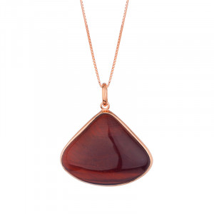 Esmeralda - Red Tiger Eye Necklace