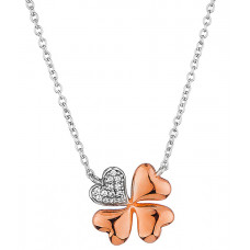 Elis - Silver Clover Necklace
