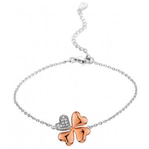 Elis - Silver Clover Bracelet