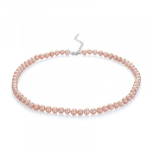 Hope - Pink Pearls Necklace
