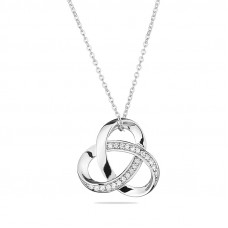 Faith - Zirconium Necklace