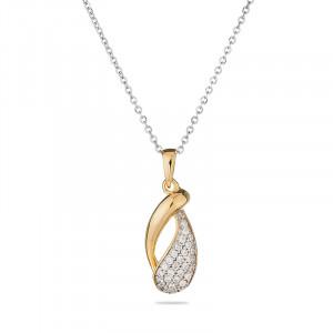 Savannah - Necklace with gilding and zirconium
