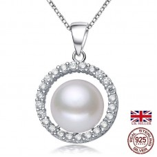 Ellis - Sterling Silver and Pearl Pendant