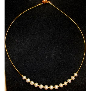 Gaby - Cultured pearl necklace