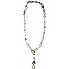 Надежда - Огърлица от перли и кристали