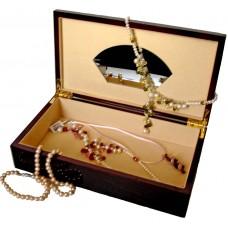 Кутия за бижута от махагон
