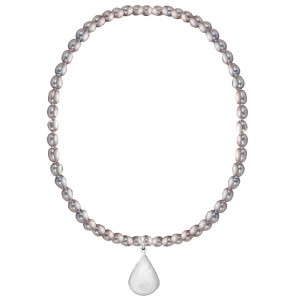 Lucia - Moonstone and Pearl Necklace
