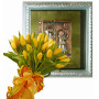 Giselle # 2 - Tulip bouquet & Wall decoration