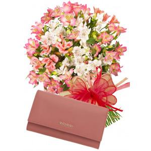 Aurora # 3 - Bouquet and Ladies purse