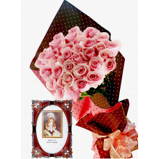 Pretty in pink # 4 - Roses and  Photo frame