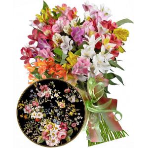 Zoe # 3 - Bouquet and Desert Plate