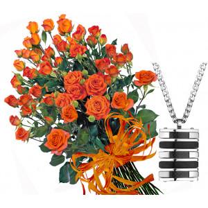 Charlotte # 6 - Roses and  Men's Medallion