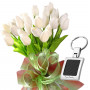 Bianca # 13 - Tulip bouquet and Key Chain