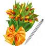 April # 3 - Tulips and Pierre Cardin Pen