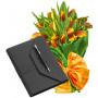 April # 4 - Tulips Bouquet and Organizer Pierre Cardin