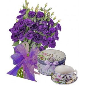 Gabriella # 6 - Flowers and Porcelain Set