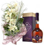 For a Special Day # 2 - Orchid bouquet and Courvoisier VS Cognac