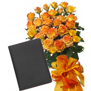 Alegra # 7 - Rose Bouquet  and Organizer Pierre Cardin
