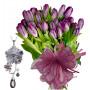 Natalia # 1- Flowers & Pinctada Necklace