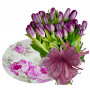 Natalia # 2 - Flowers & Glass Plate