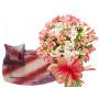Aurora # 3 - Flower bouquet and Ice cream set