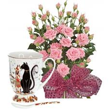 Alexa # 3 - Roses and Gift cup