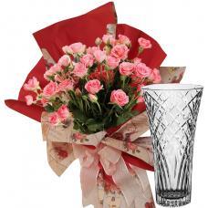 Rosabelle # 8 - Bouquet and Vase