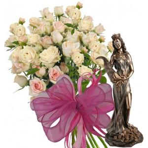 Unique Gift Idea # 1 - Roses & Gift