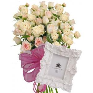 Unique Gift Idea # 2 - Roses & Gift
