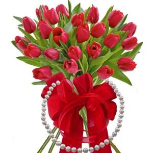 Monica # 5 - Flowers & Necklace