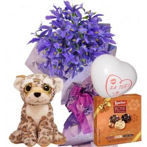 Само за моя Свети Велентин - Цветя и подаръци