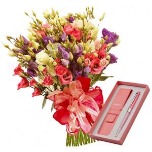 Milady # 2 - Bouquet and Pierre Cardin Pen