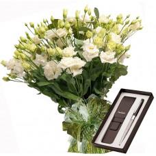 Sophia # 6 - Bouquet and Pierre Cardin Black Pen