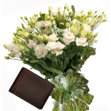 Sophia # 7 - Bouquet and  Men's Wallet