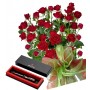 Saskia # 7 - Roses and Pierre Cardin - Pen
