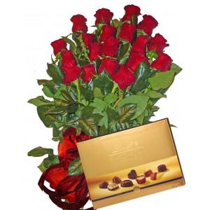 Приятелски жест - Рози и бонбони