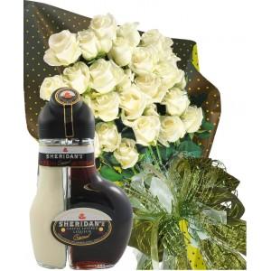 Настроение в бяло - Рози и ликьор