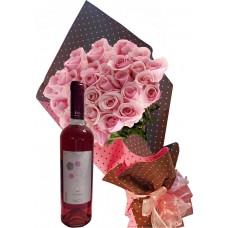 Накарай я да се усмихне - Рози и вино