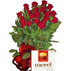 Благодаря много - Рози и бонбони