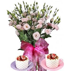 Алисън # 1 - Цветя и подарък