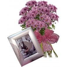 Стела # 1 - Цветя и подарък
