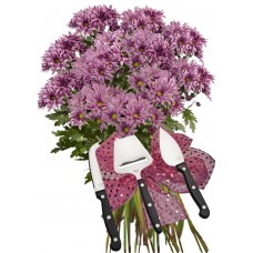 Стела # 2 - Цветя и подарък